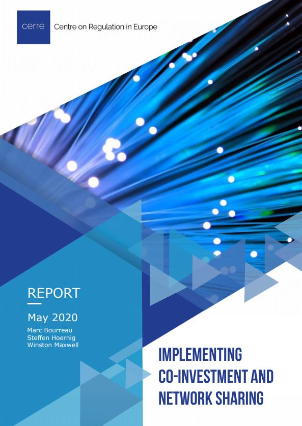 CERREreport cover Implementing co-investment and network sharing