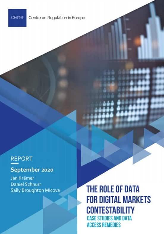 Data Markets Contestability