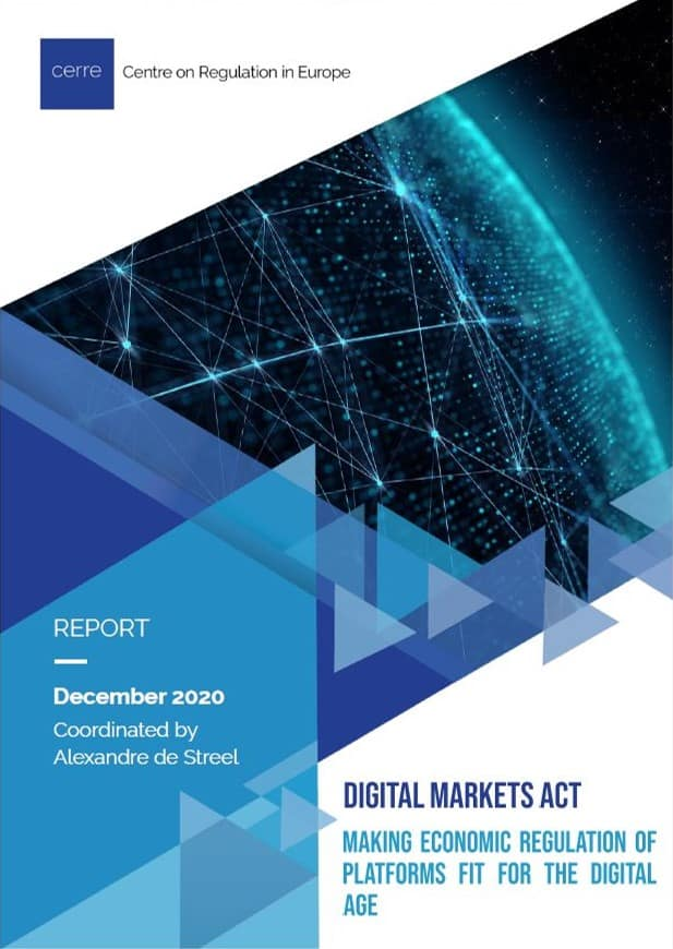 The Digital Markets Act: Making economic regulation of platforms fit for the digital age