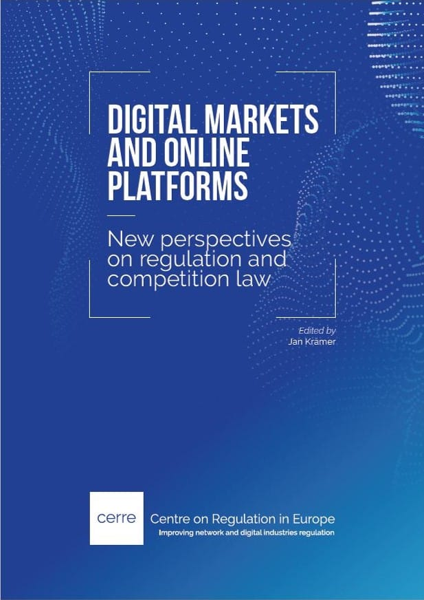 Digital markets and online platforms: new perspectives on regulation and competition law