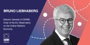 Bruno Liebhaberg at IIEA event on the online platform economy