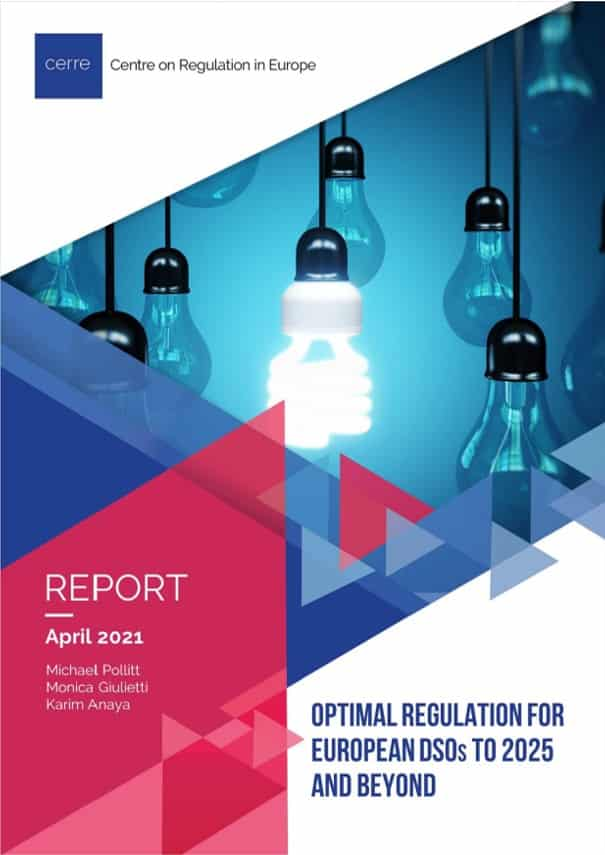 Optimal regulation for European DSOs to 2025 and beyond
