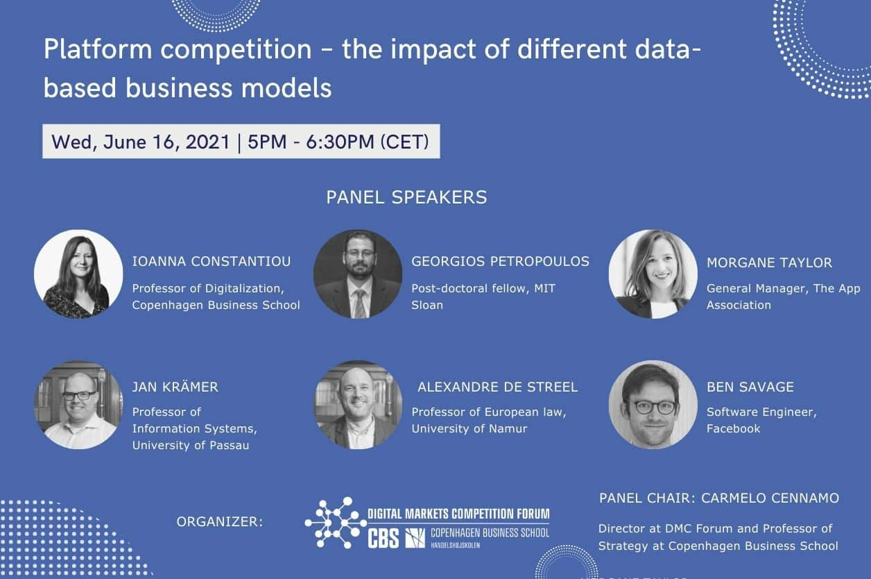 Platform competition – the impact of different data-based business models